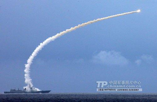 中国海军加强实战演练 171舰对空雷达世界领先