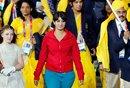 女子混入印度奥运代表团