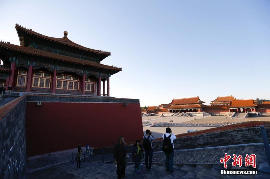 故宫四大新区10月10日开放 游客可登城墙参观 - 海阔山遥 - .