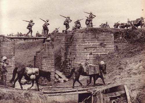 致左权牺牲的日军华北大扫荡