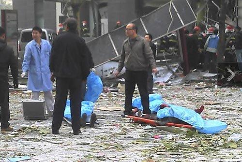 西安南郊一小吃店发生爆炸 致7人死亡31人伤
