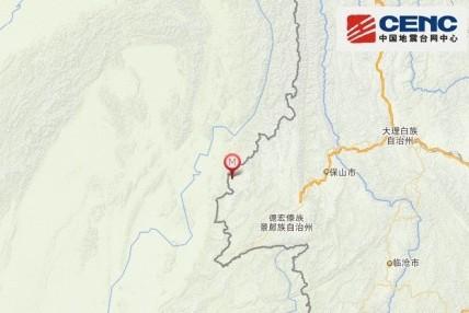 高清图—云南德宏傣族景颇族自治州盈江县5.6级地震20140524