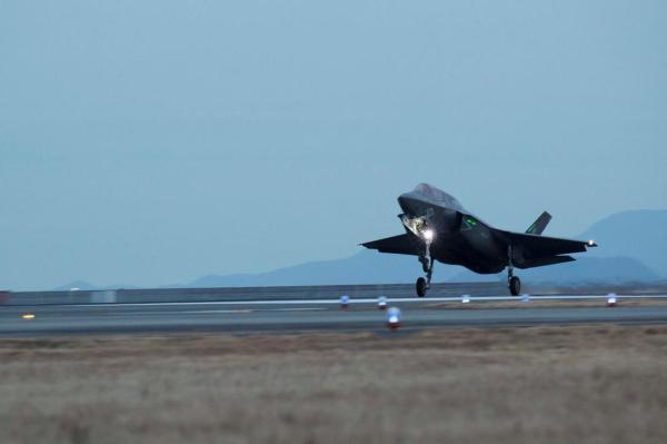 美军加紧在东亚部署F-35 外媒称剑指中国和朝鲜