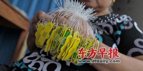塑料管编织动物