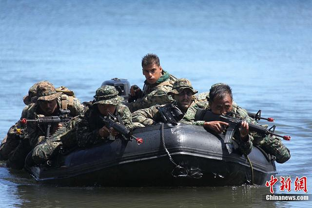 美军指挥官:美与菲律宾军事合作关系并未生变