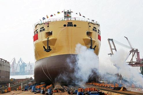 中国建成全球最先进万吨化学船 打破外国垄断