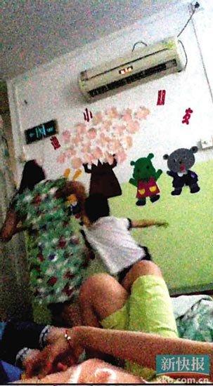 六年级女生拍视频曝光幼儿园老师体罚孩子