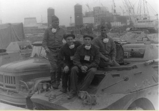 苏军救援切尔诺贝利付出多大代价?一个摩步师全军覆没