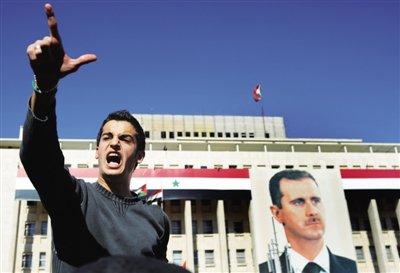 美国称中俄否决叙利亚决议草案是拙劣之举