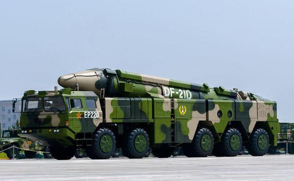 日本情报:中国93阅兵16辆东风21D有10辆是假的