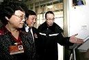 高清图:全国人大代表在北京派出所里搞调研