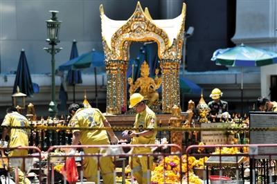 曼谷爆炸案6名中国人遇难 家属将获赔6万元(组图)