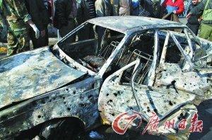 叙利亚安全局遭汽车炸弹袭击 40人遇难150人伤
