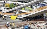 美国加州花9000万造的人行天桥5天就塌了
