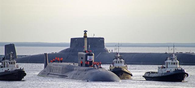 外媒揭秘苏联台风级潜艇:一次可摧毁数个国家