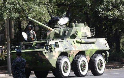 解放军38集团军列装PLL05迫榴炮 配备制导炮弹