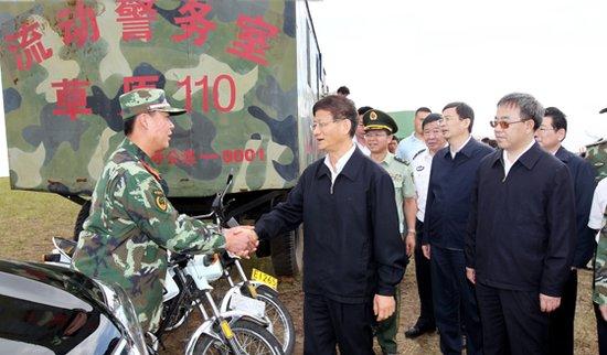 孟建柱在内蒙古调研时强调 维护社会和谐稳定