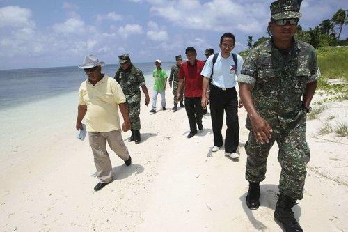菲将在东盟峰会上提南海议题 继续修中业岛码头