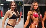 微胖女孩狂甩32斤肉 四个月惊艳蜕变肌肉女神