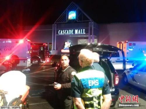 美国伯林顿商场枪击案致3死2人伤 警方全力追凶