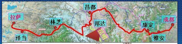 川藏铁路康定至林芝段2018年开工 工期7年半(图)