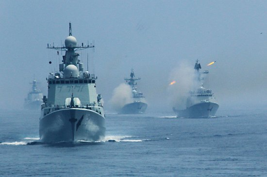 丁一平:中俄海军联合演习将向常态化机制化发展