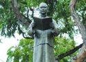 美国檀香山华埠文化广场的孙中山铜像