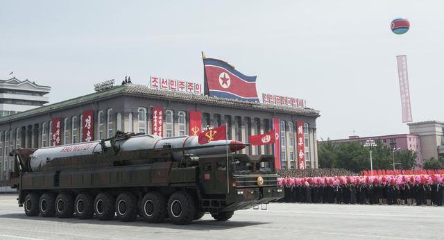 俄专家:朝鲜在2020年前就能部署打击美国的导弹群