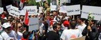 叙利亚民众示威