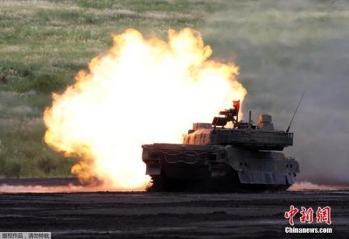 自卫队坦克