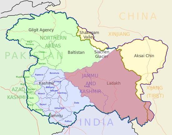 印控克什米尔地区_印高官:克什米尔中印争议区无中国士兵渗透