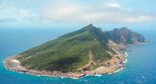 钓鱼岛资料图。图片来源:台湾《联合报》
