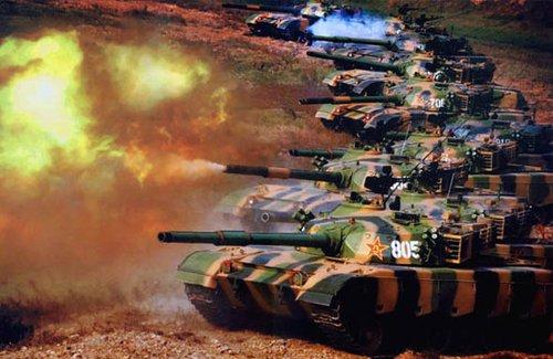 合成坦克营消耗800发特种弹药打掉112个目标
