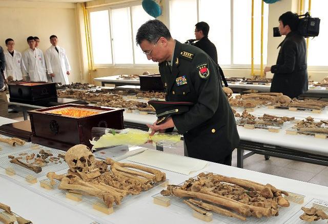 437具志愿军遗骸踏上回家路 将从韩国运至沈阳