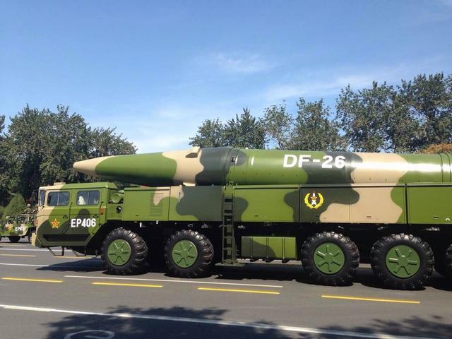 美媒:东风26不只是航母杀手 核反击能力强悍 - 海阔山遥 - .