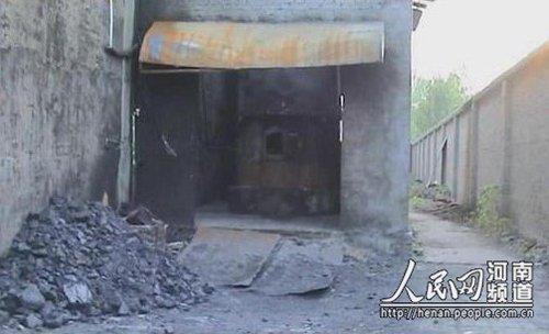 河南叶县一食品公司锅炉爆炸 致一死两伤(图)