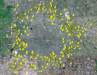 垃圾围城――北京周边非法垃圾填埋场分布图