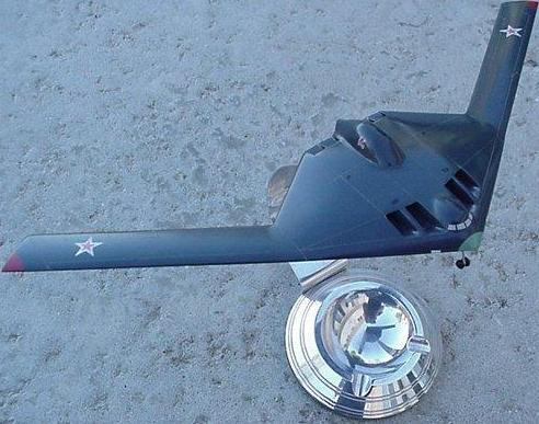 俄罗斯公布未来轰炸机外形假想图