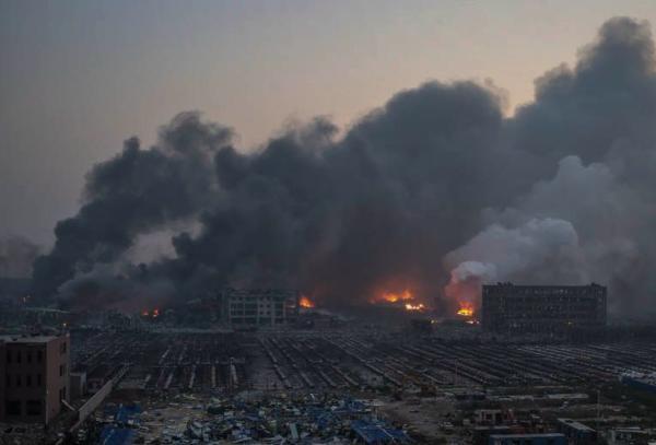 """""""失联""""的天津港消防支队:察觉不对时已迟了"""