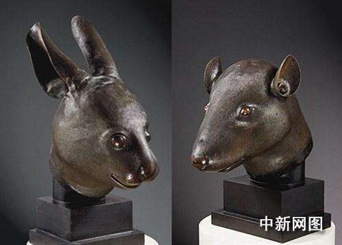 法国企业家将向中国捐赠圆明园流失鼠首兔首