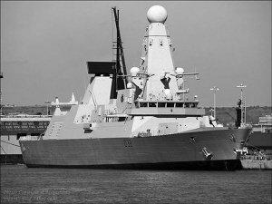 英最先进驱逐舰将赴海湾 确保原油运输不会中断
