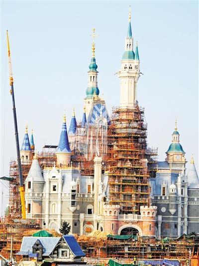 上海迪士尼周边房价6年来涨5倍 最高已达4万一平