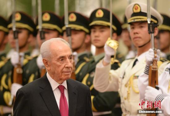 以色列前总统佩雷斯逝世:一生致力中东和平进程