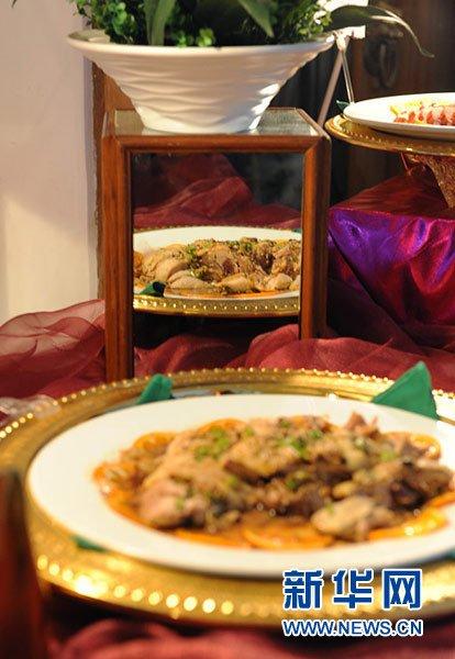 舌尖上的两会:实地考察代表们的丰富晚餐(组图)