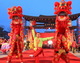 高清:春节黄金周精彩图片新闻回顾