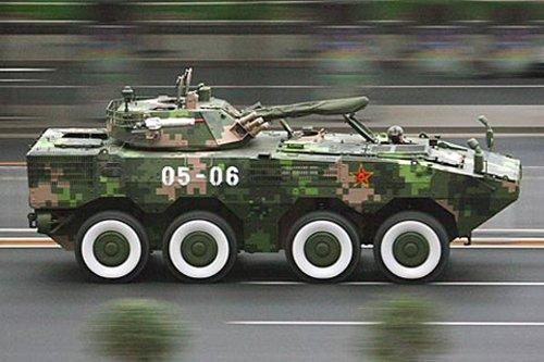 港媒:我军新锐轮式战车推动快反能力再上台阶