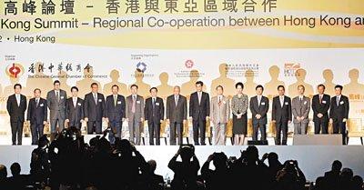 梁振英:一国两制下香港有优势可带动亚洲增长