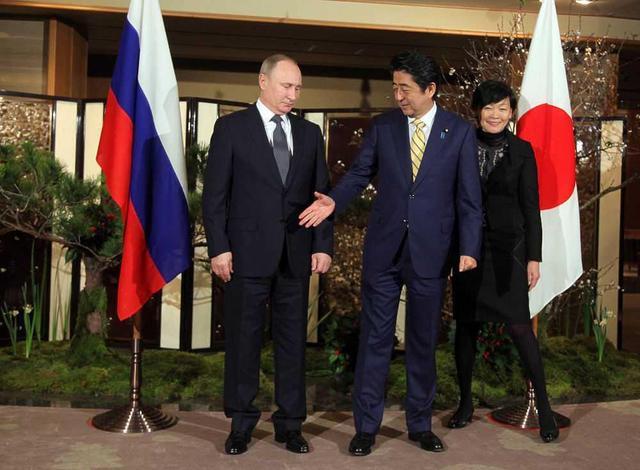 """日媒:日俄互不信任 都担心对方""""捡到好处就走人"""""""