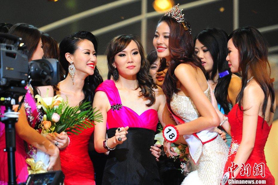高清组图 2011中国环球小姐闪耀诞生