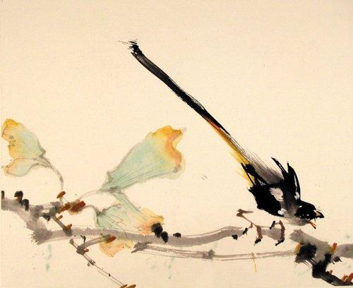 竹子平面手绘稿